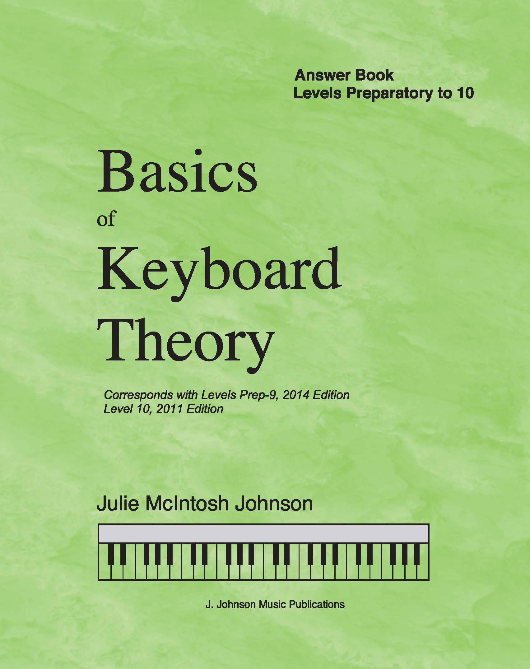Basics of Keyboard Theory Answer Book