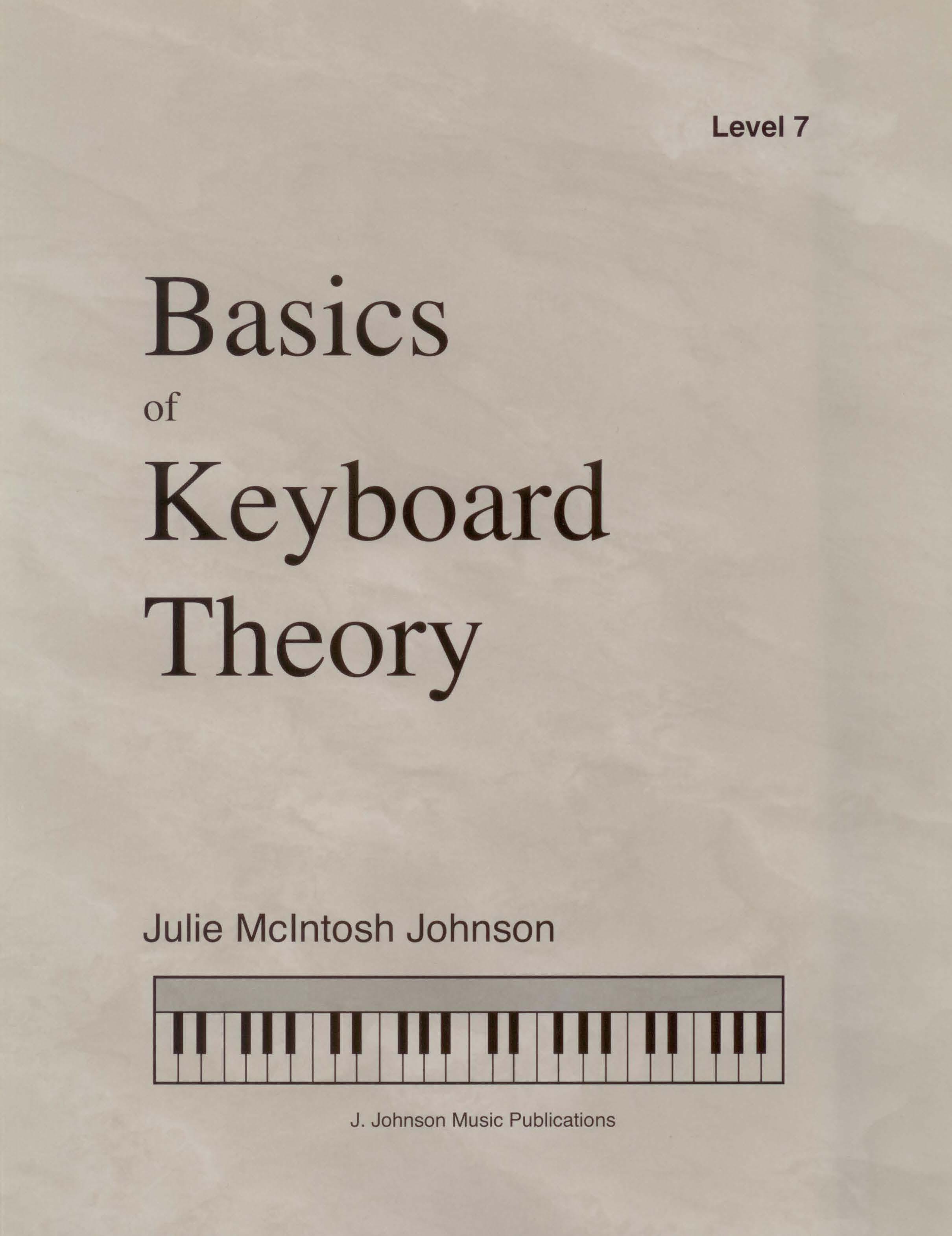 Basics of Keyboard Theory Level 7