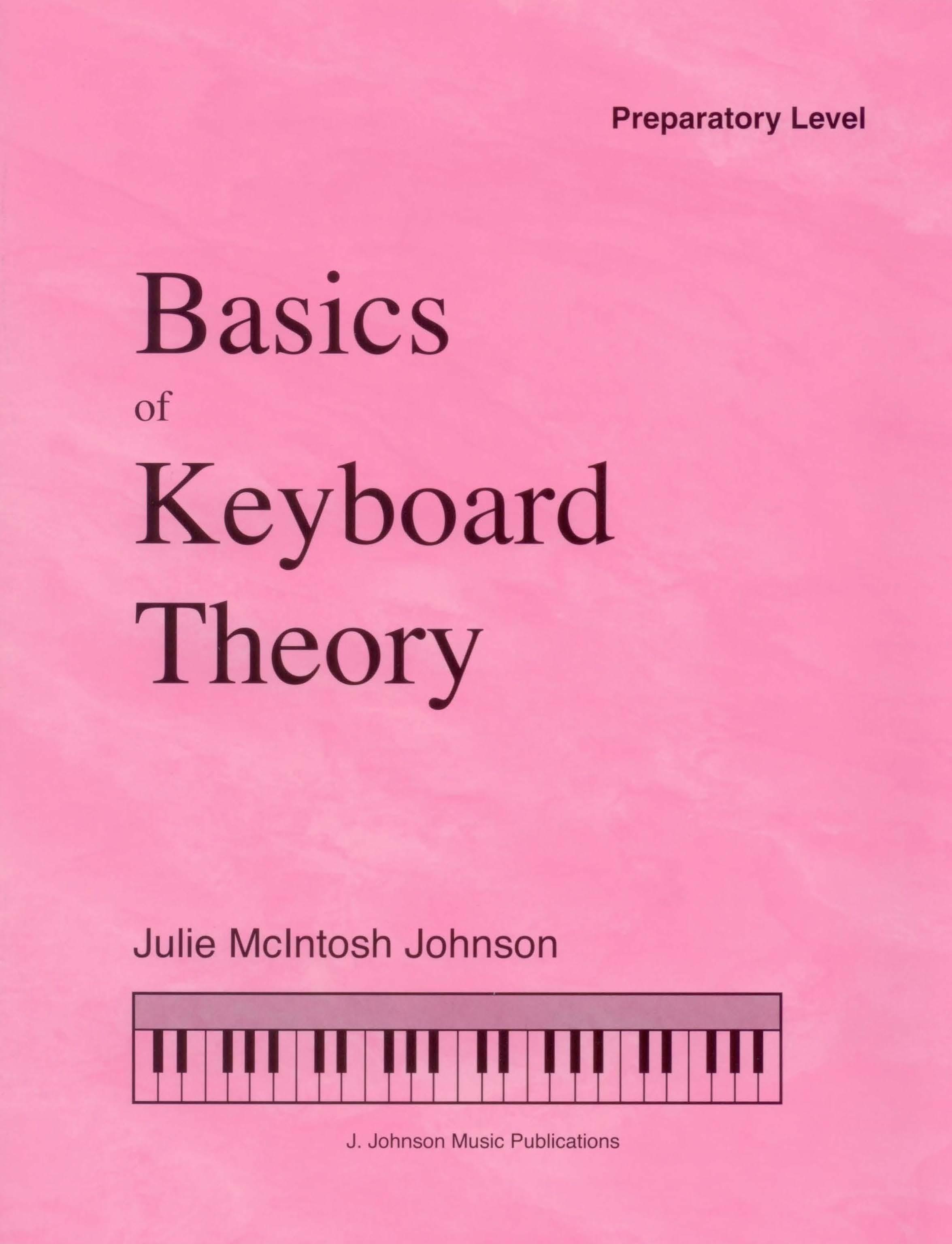 Basics of Keyboard Theory Prep Level